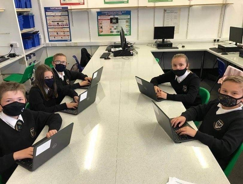 Laptop donation | Asda Bridgend
