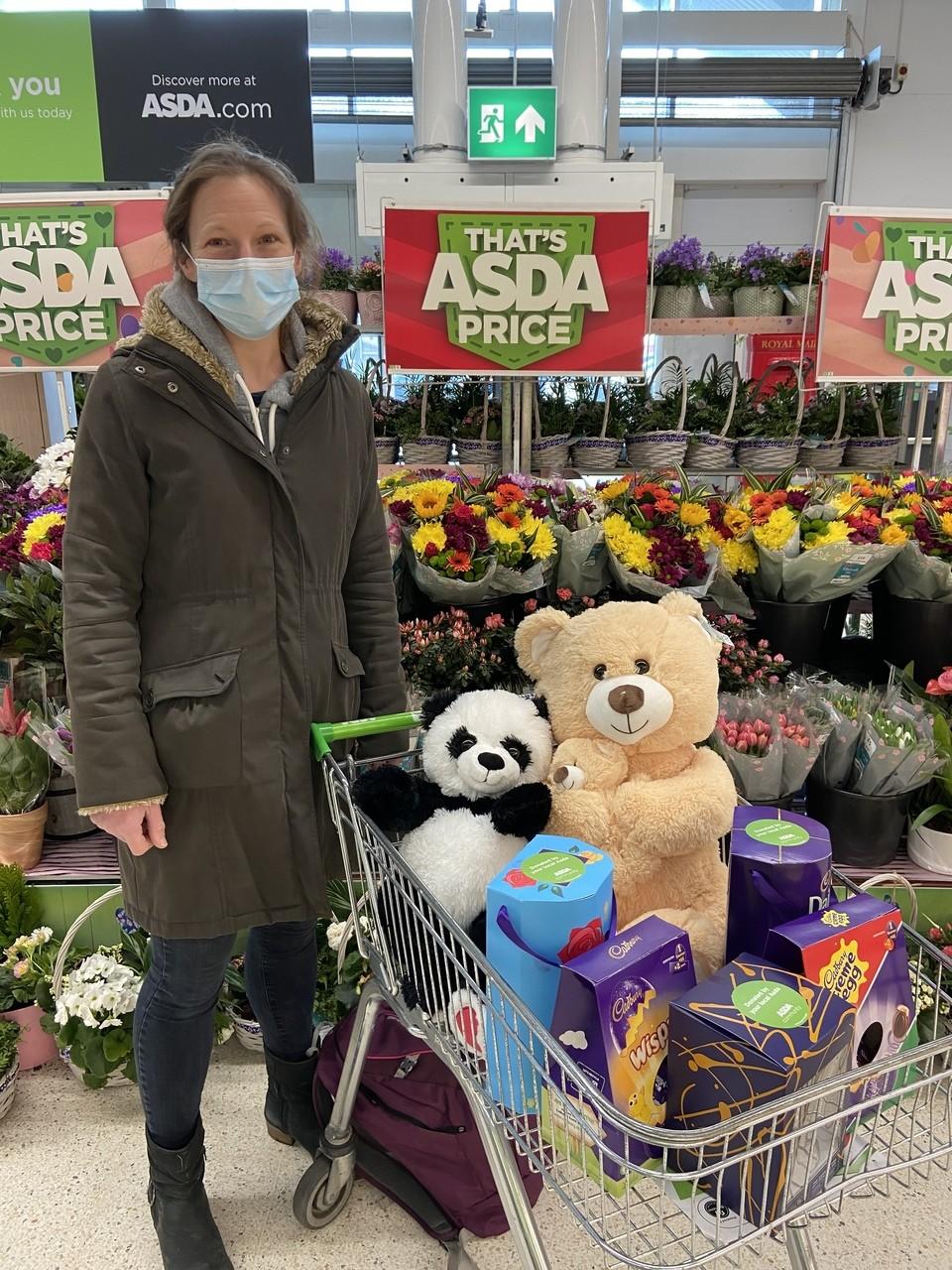 Mother Goose Preschool donation | Asda Biggleswade