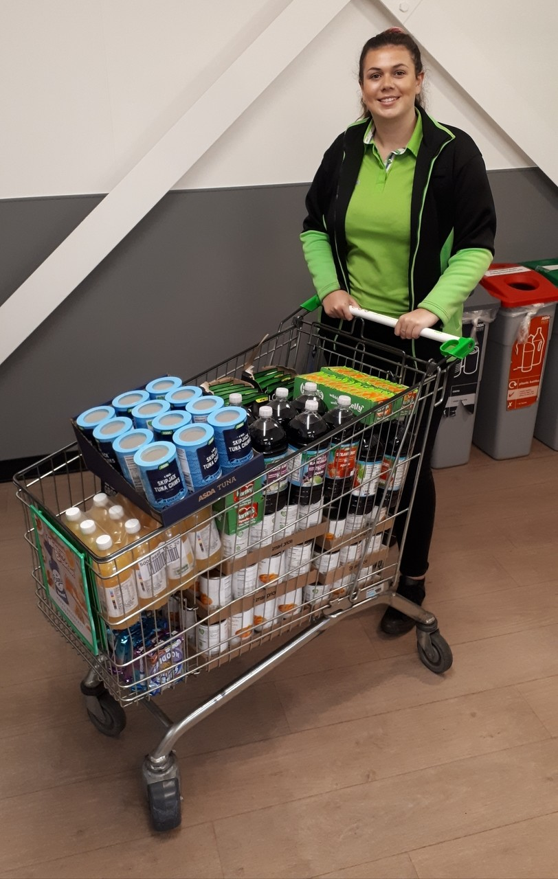 Helping our local food bank | Asda Boston