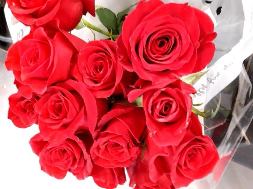 Red Rose's for valentine's then Pancakes | Asda Barnstaple