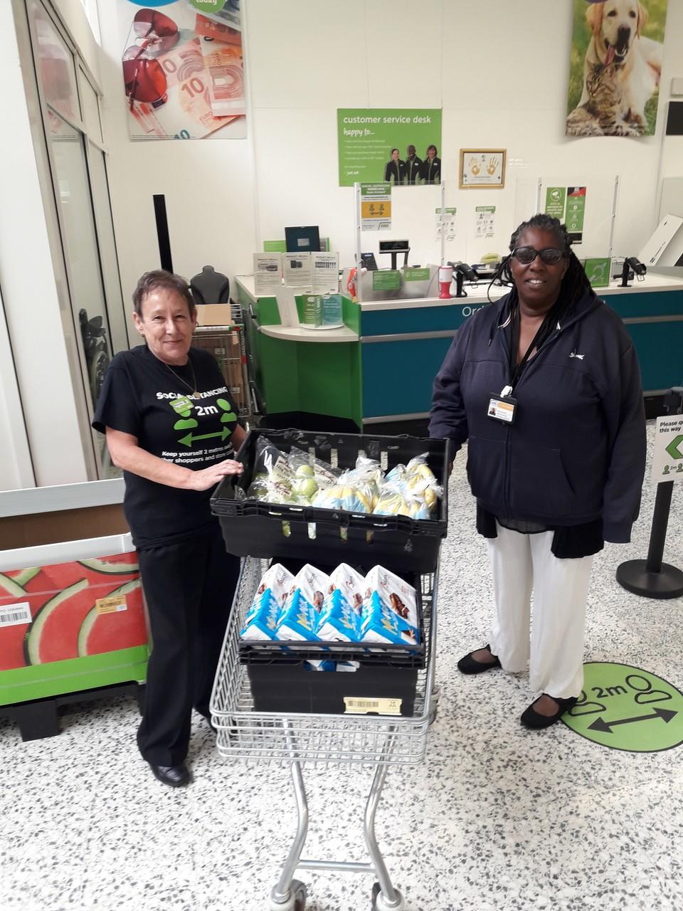 Donation to The Good Shepherd Ministry | Asda Wolverhampton
