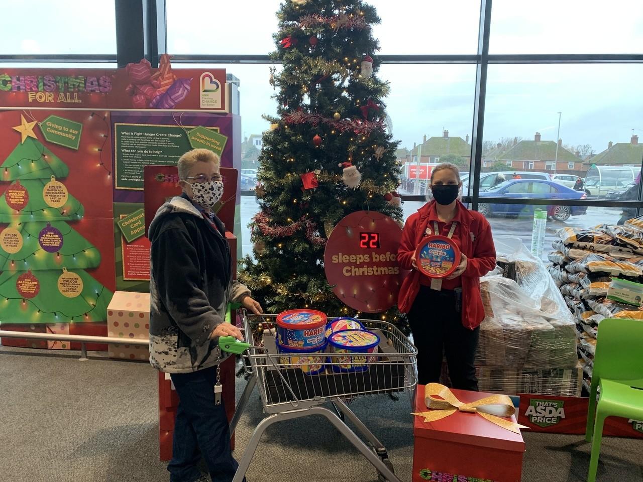 Santa's sleigh | Asda Clacton-on-Sea