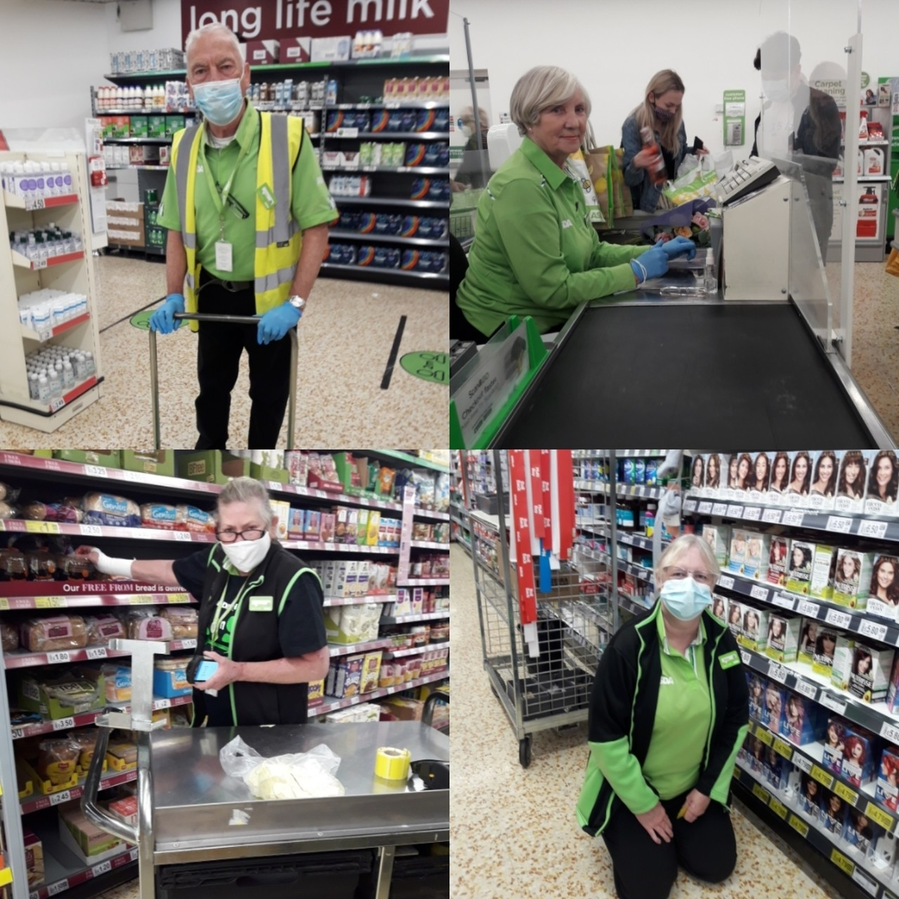Welcoming back returning colleagues at Asda Cramlington | Asda Cramlington