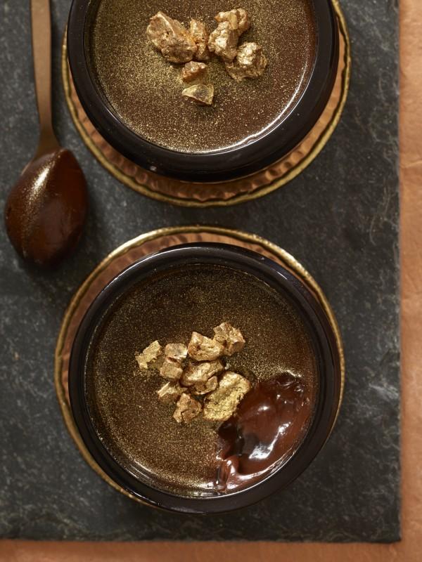 Vegan Chocolate and Salted Caramel Pots