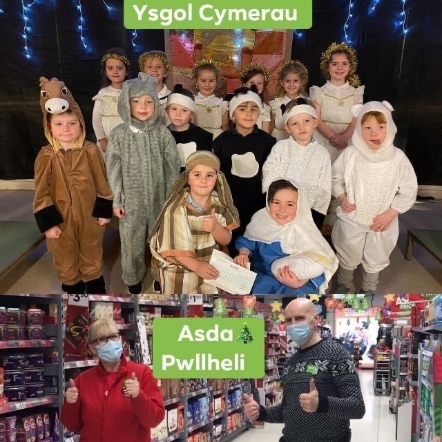 School thanks | Asda Pwllheli