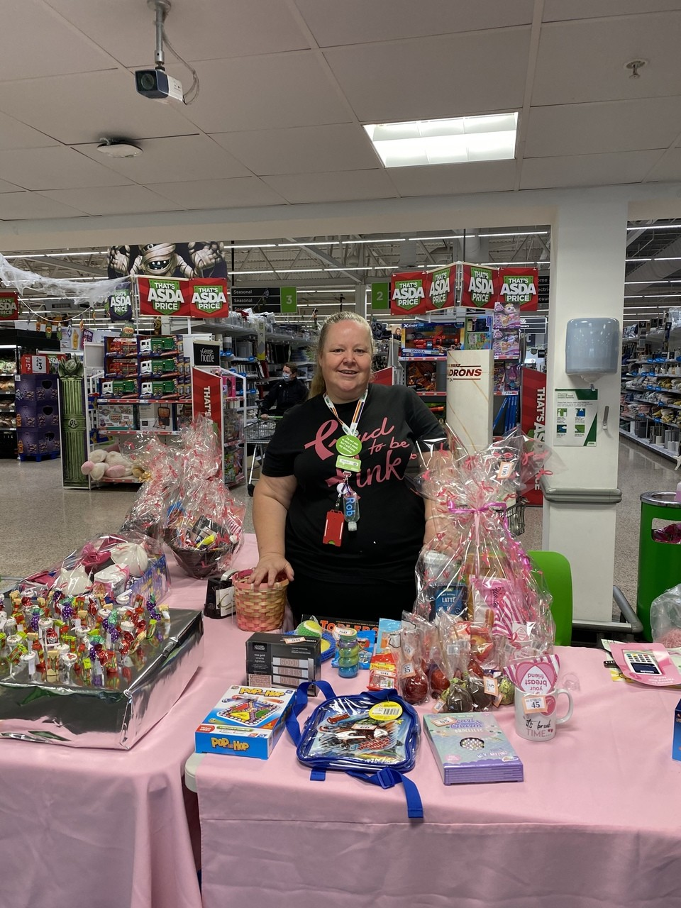 Supporting Tickled Pink | Asda Gosport
