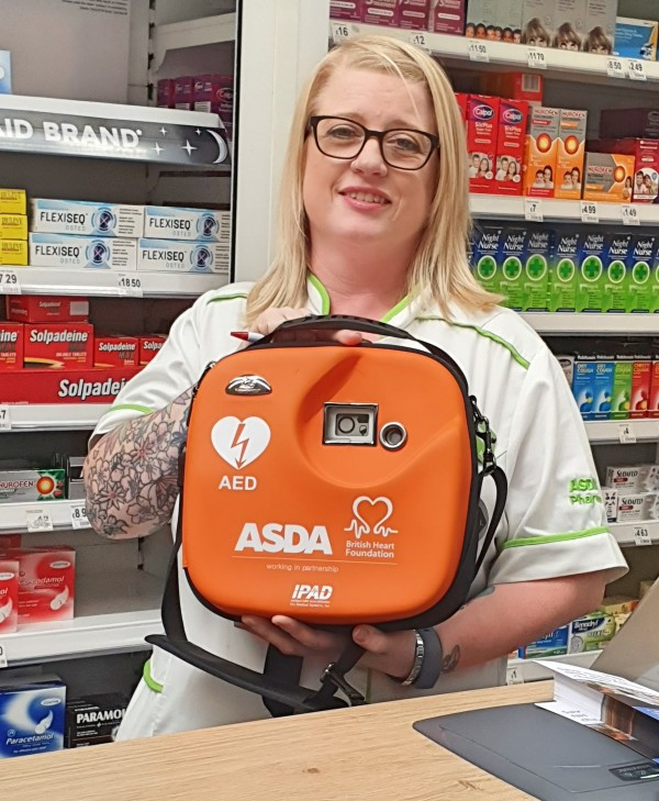 Pharmacy colleague Heather saves life of customer at our Tamworth store