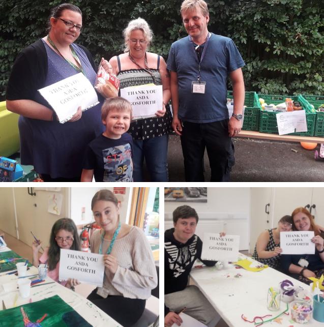 Families First Healthy Holidays grant | Asda Gosforth