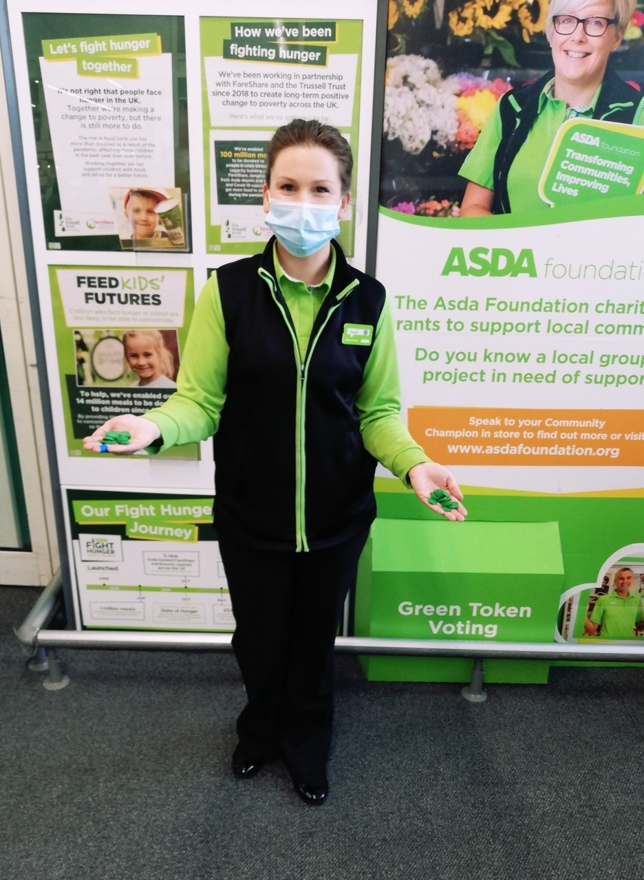 Green Token Giving | Asda Peterlee