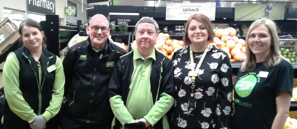Asda Waterlooville colleagues