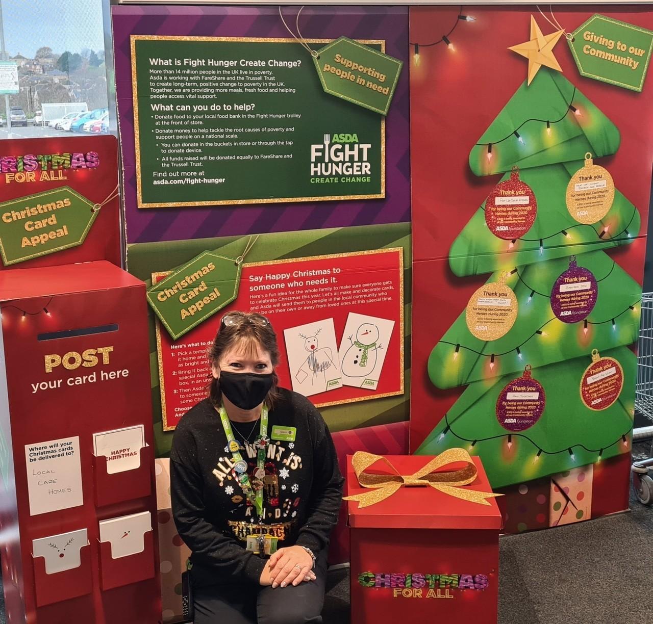Christmas Wrap   Asda Newport Isle of Wight