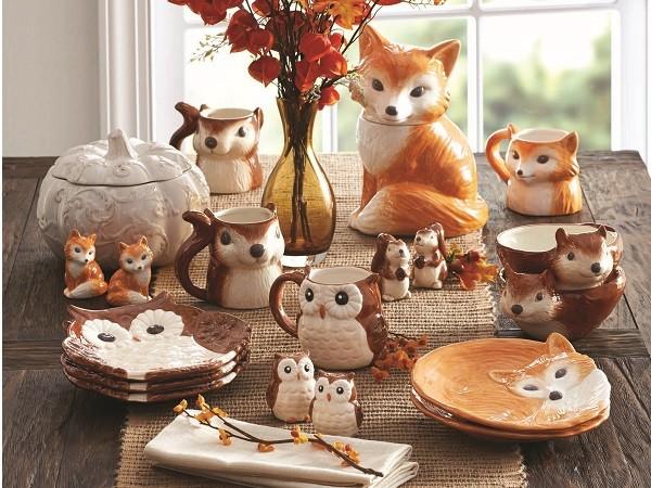Ceramic Animal Dishes