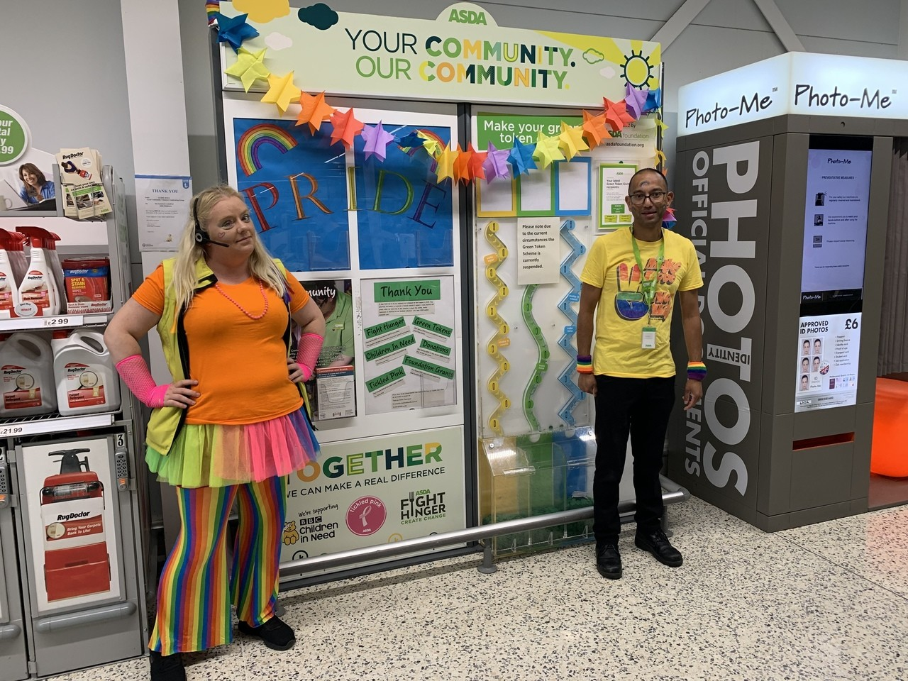 Celebrating Pride at Asda Middleton | Asda Middleton