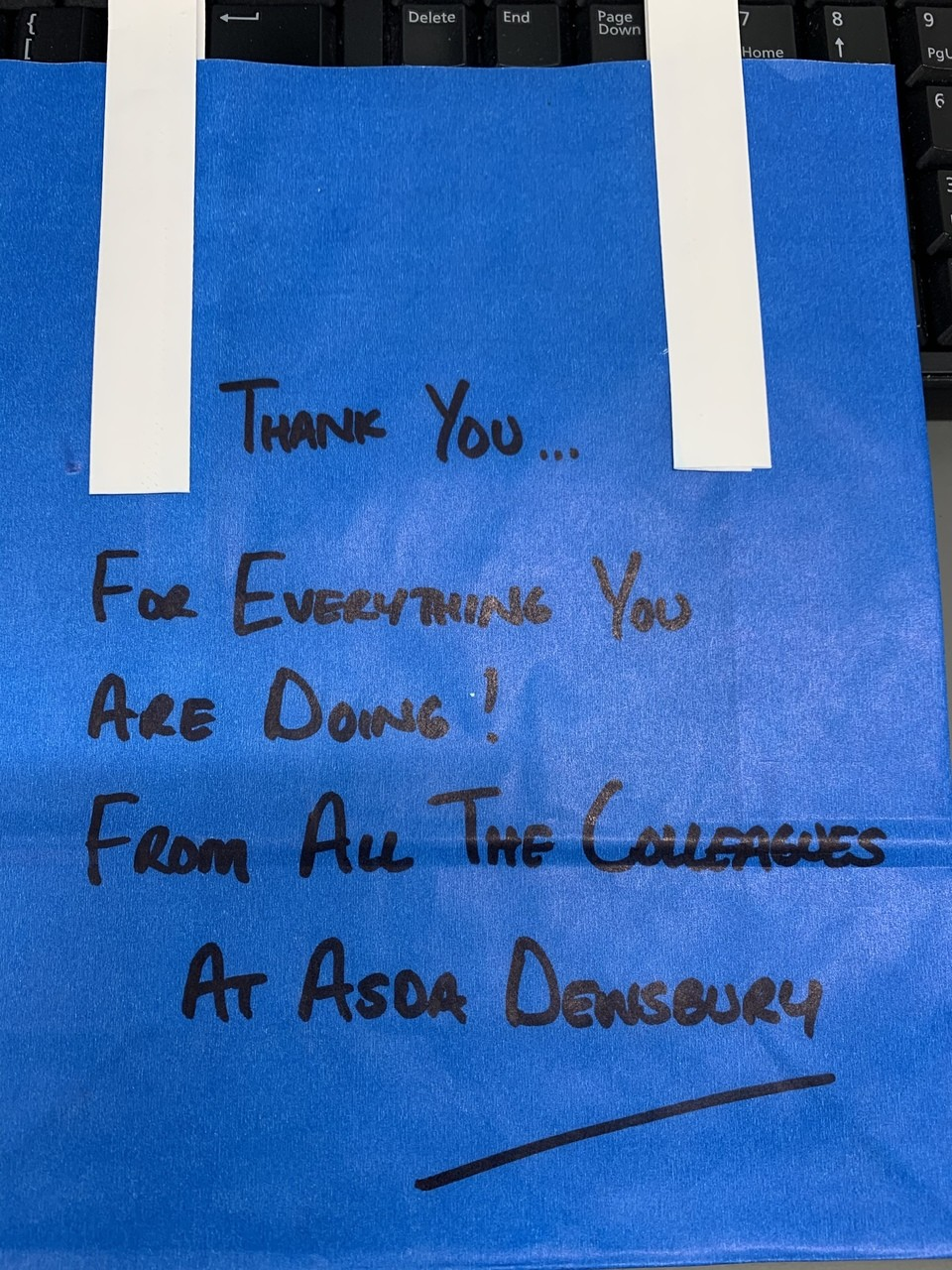 Thanking our NHS | Asda Dewsbury