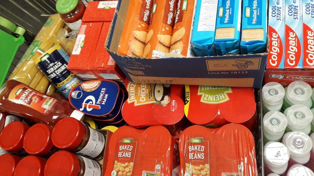 Warrington Foodbank donation | Asda Westbrook