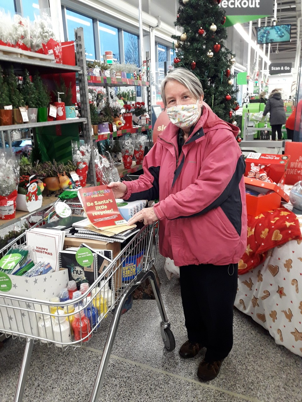 ST MARYS SCHOOL DONATION AND XMAS CARD ACTIVITY  | Asda Reddish