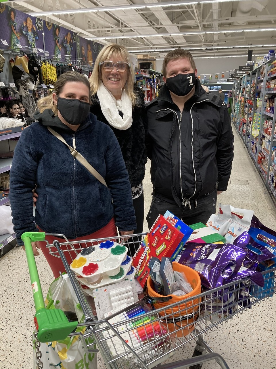 Donation to The Lonely club | Asda South Woodham Ferrers