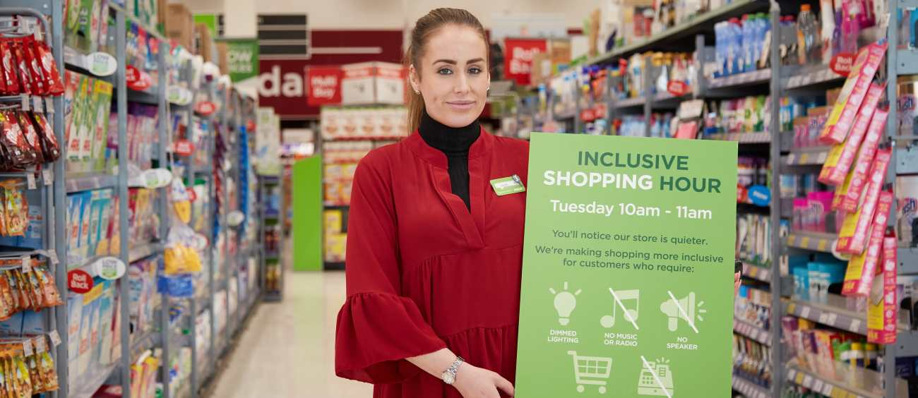 50e605dbc We're extending our dementia and autism-friendly Inclusive Hour trial to  more stores