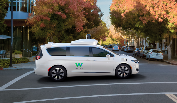 Waymo self-driving vehicle