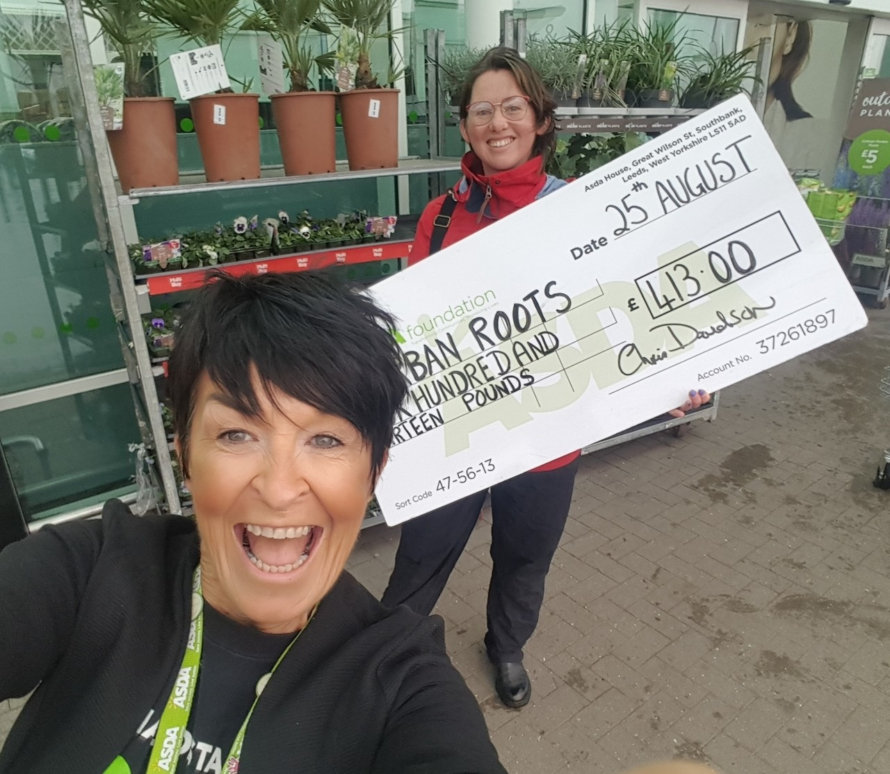 Healthy Holiday grant to Urban Roots | Asda Toryglen