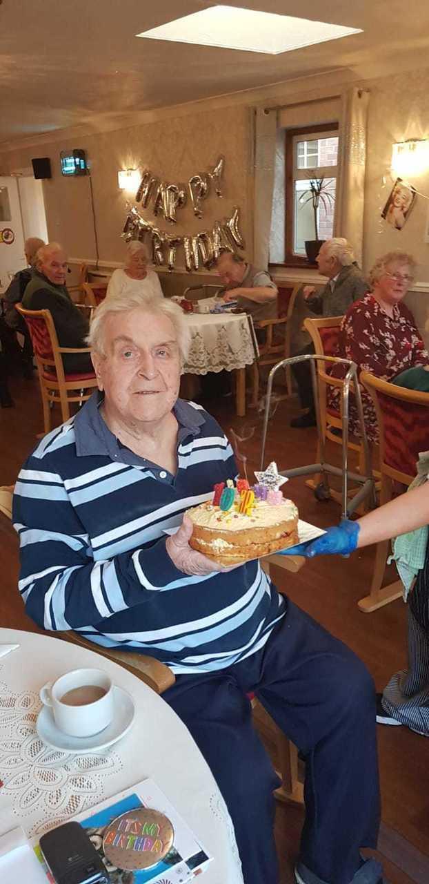 Birthday treats as John turns 102! | Asda Clacton-on-Sea