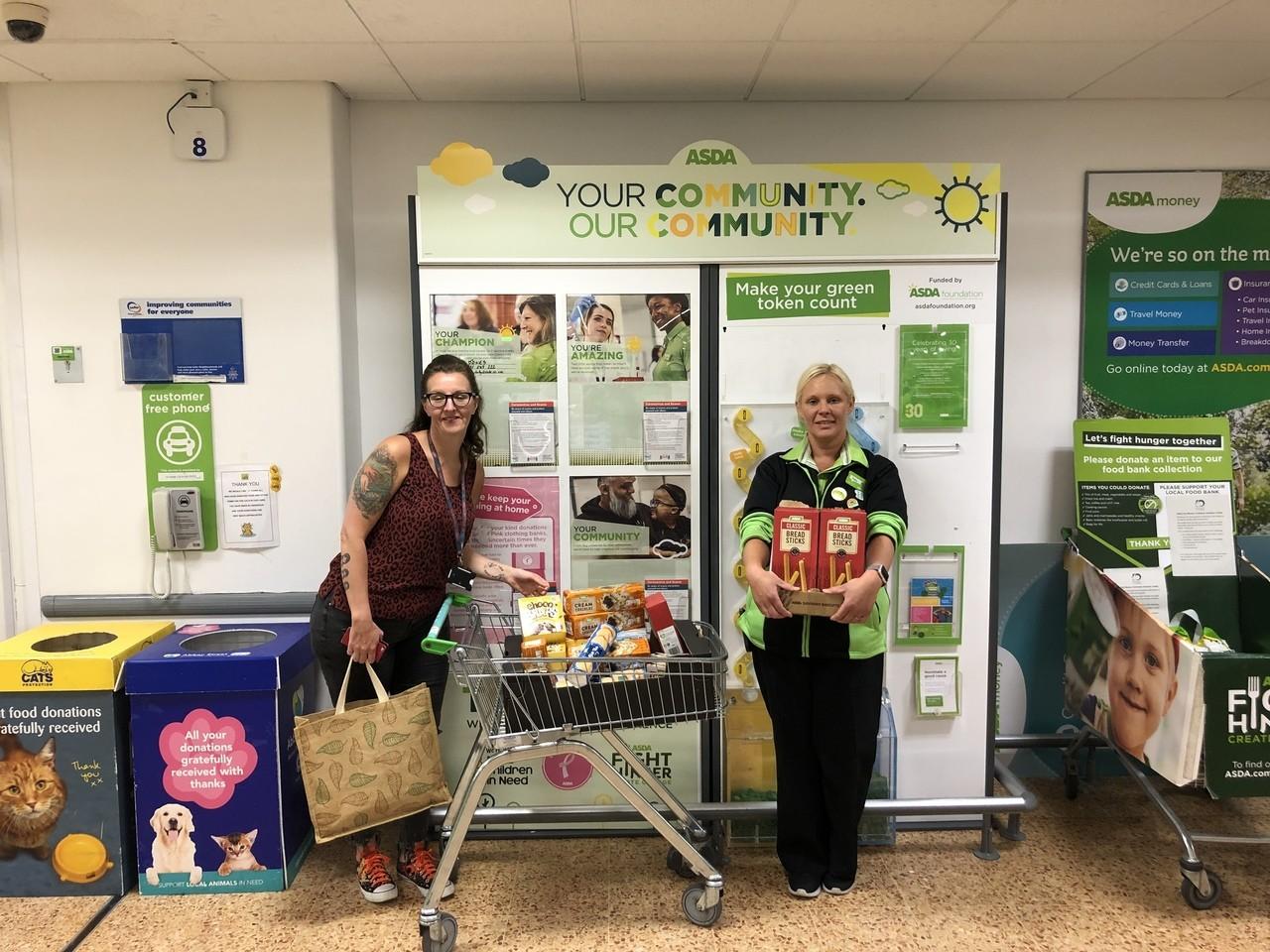 Donation to St Martin's School | Asda Derby