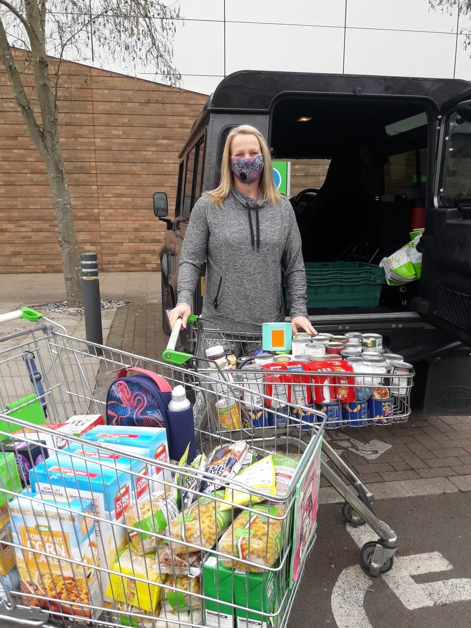 Foodbank help | Asda Kingshill