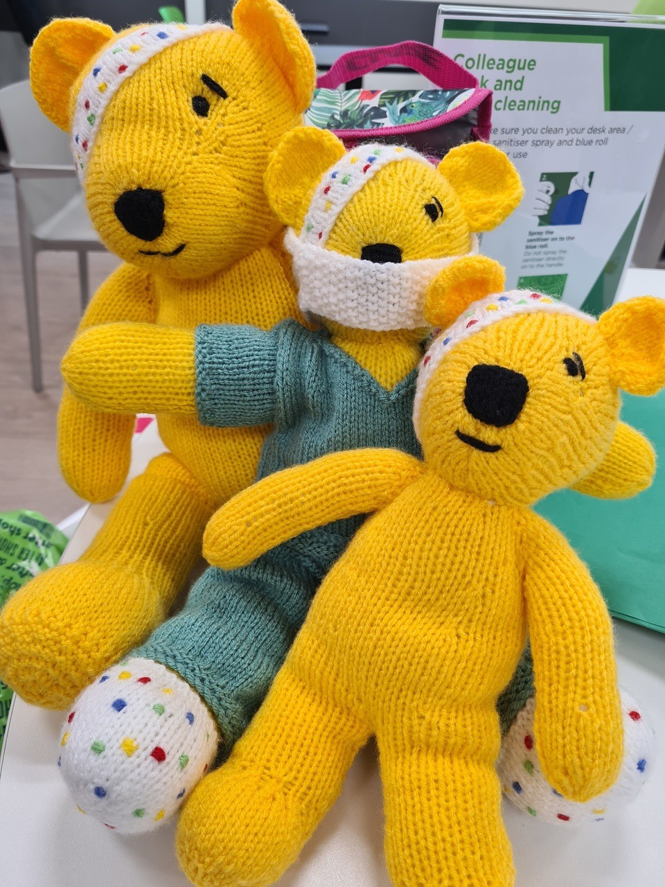 Children in Needbears | Asda Newport Isle of Wight