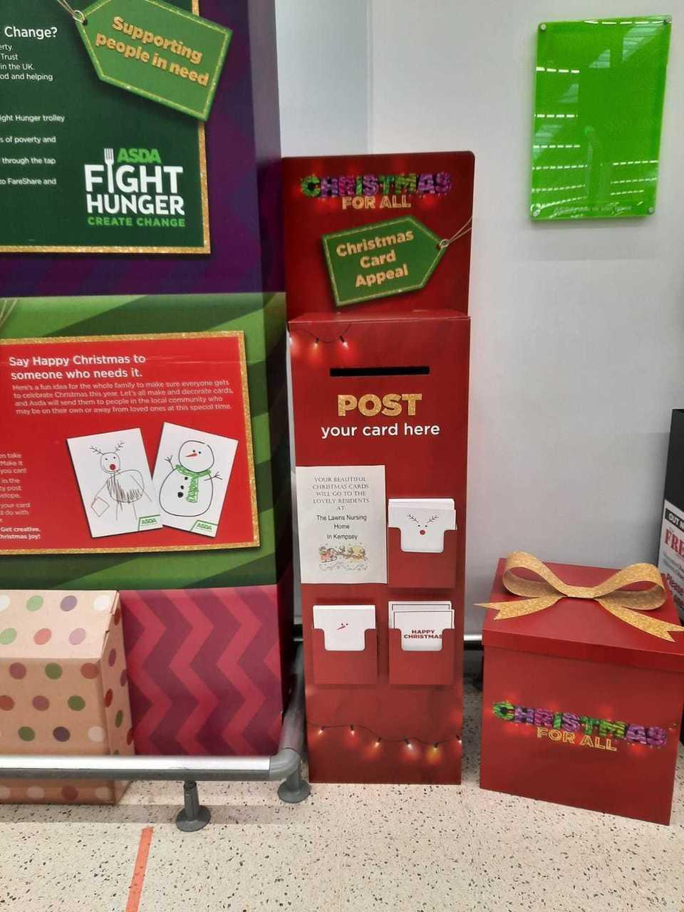 Christmas post box | Asda Worcester