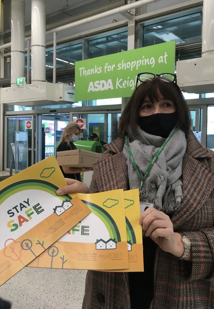 Local school collects activity packs | Asda Keighley