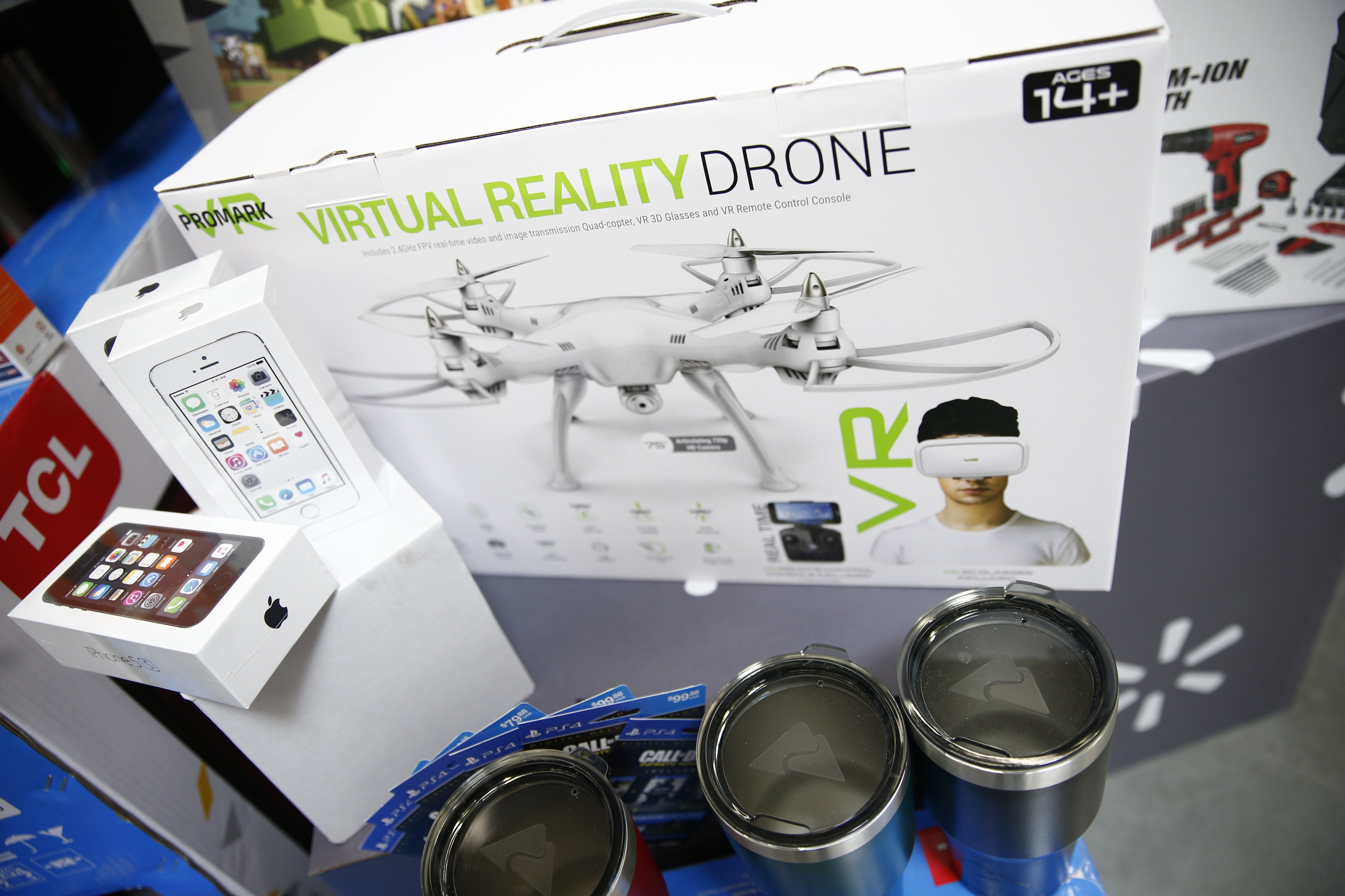 Virtual Reality Drone