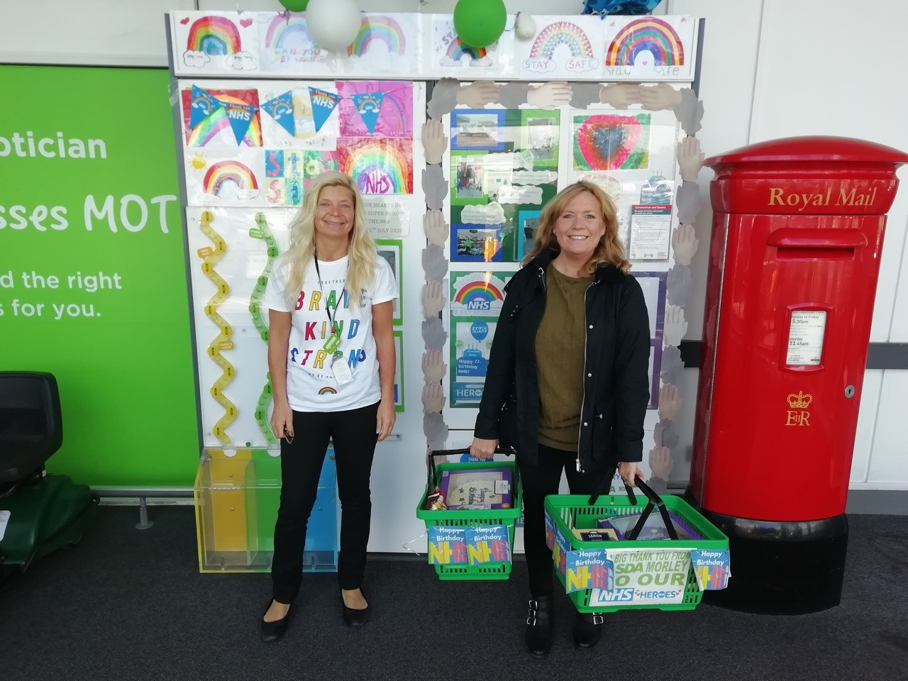 Hospital donation | Asda Morley