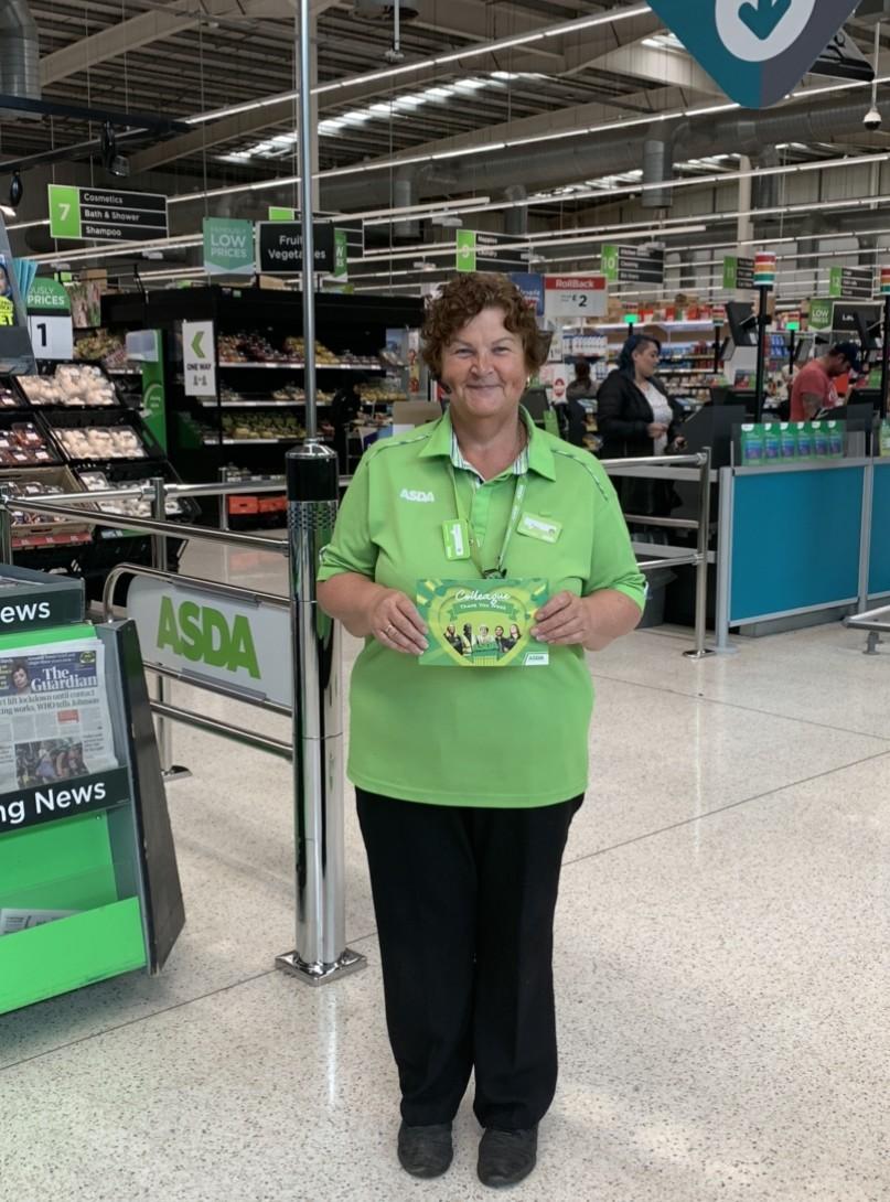 Hero Angie shops for the elderly | Asda Dewsbury