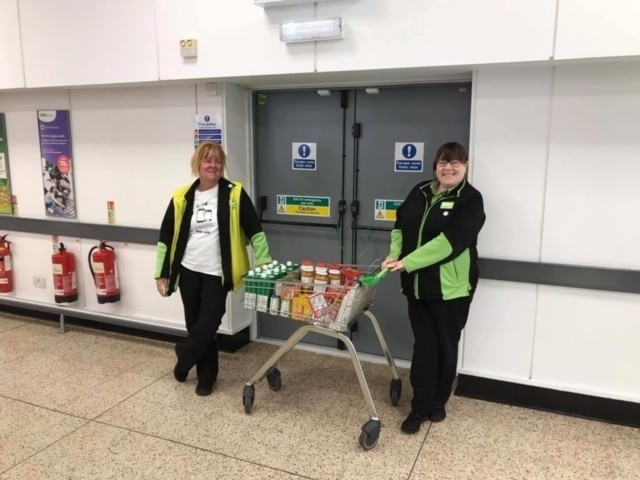 Foodbank donation | Asda Dyce