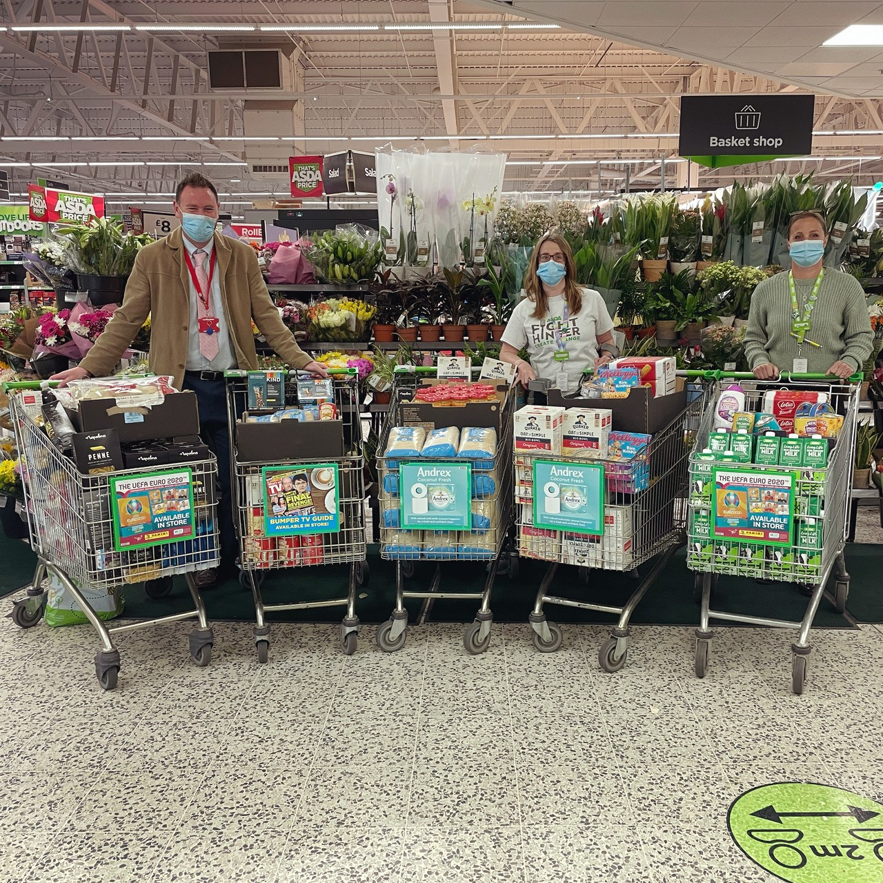 Supporting communities grant | Asda St Austell