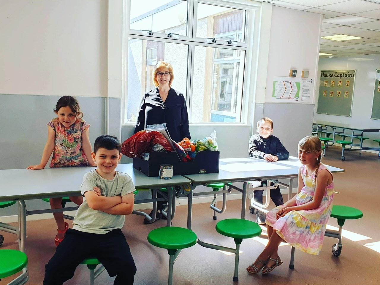 School Hub Donations | Asda Elgin