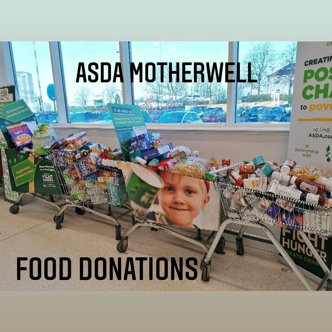 Food Donations | Asda Motherwell