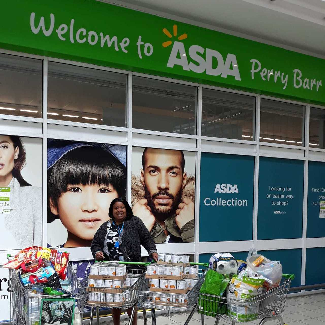 Handsworth Foodbank support | Asda Perry Barr