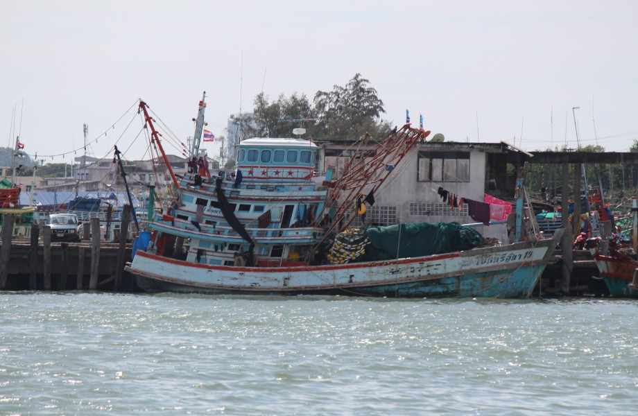 Fishing boat in Thailand water