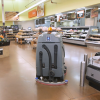 The Auto-C Autonomous Cleaner cleans the floor