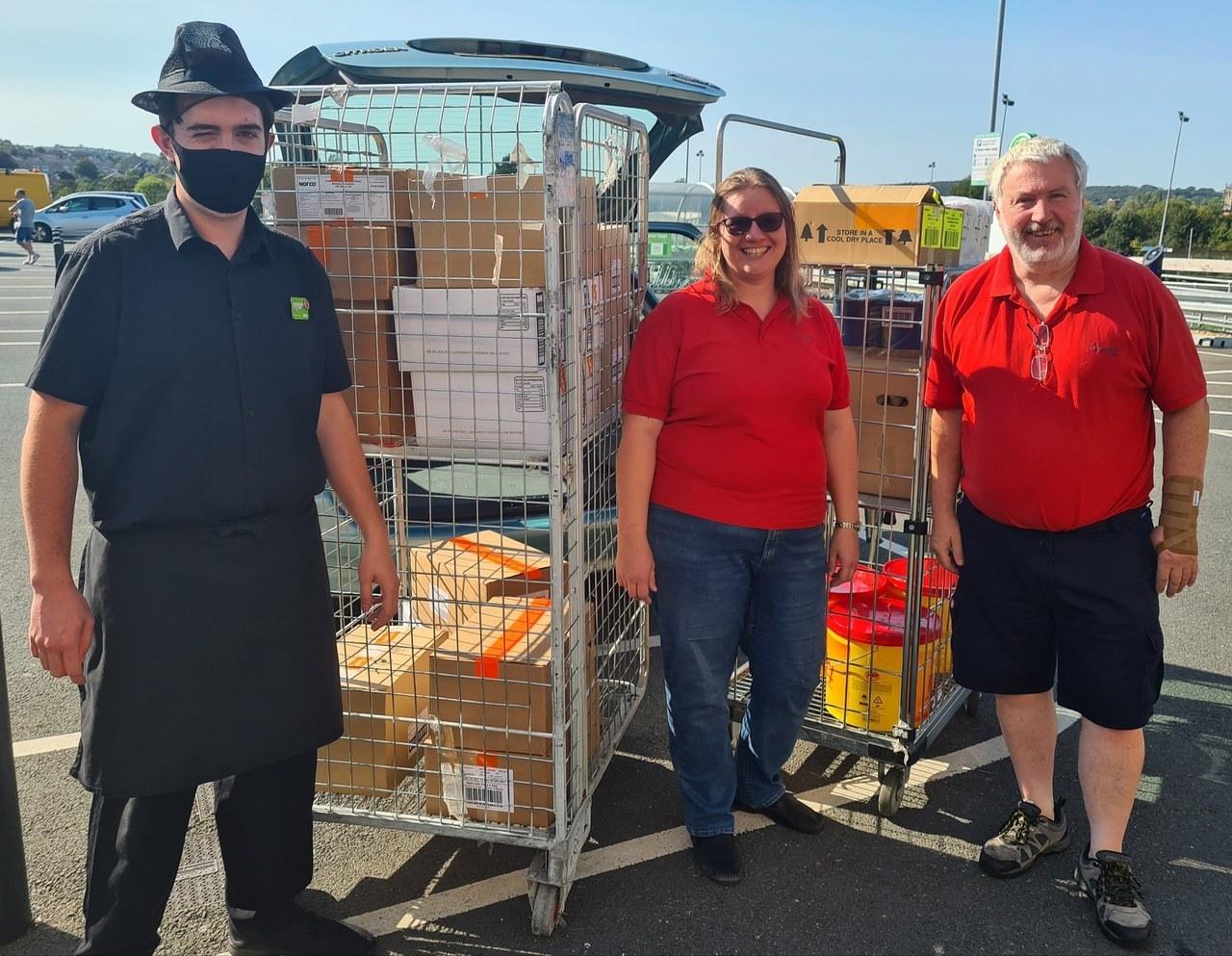 Salvation Army donation | Asda Newport Isle of Wight