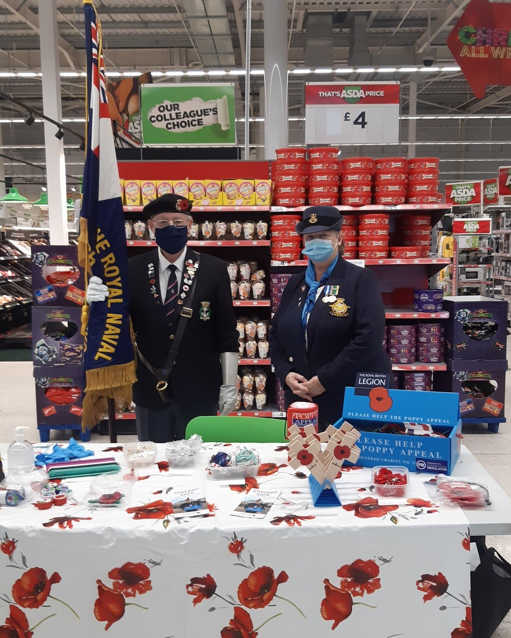 Proud to support the Poppy Appeal | Asda Ipswich Stoke Park