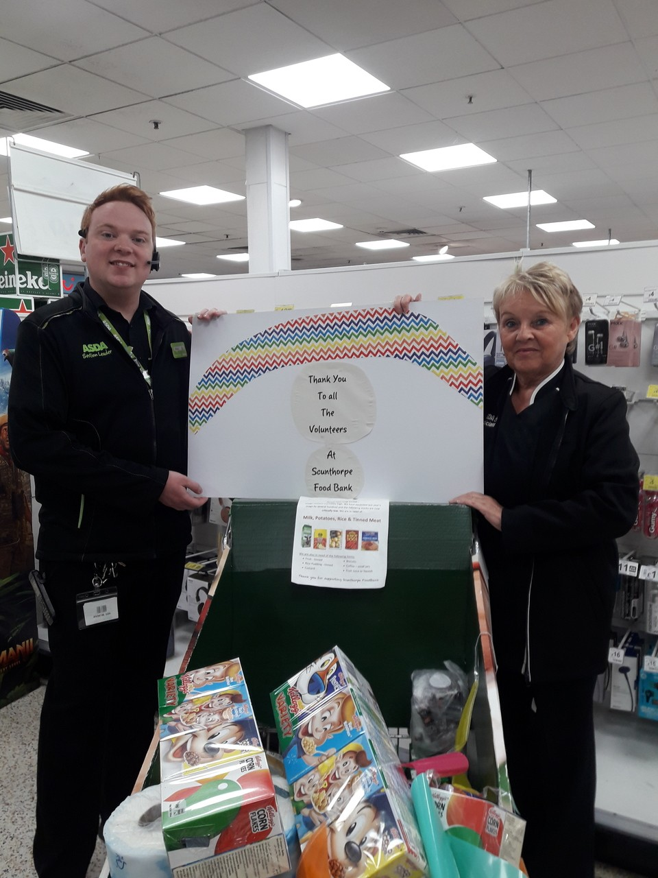 Scunthorpe Food Bank  | Asda Scunthorpe