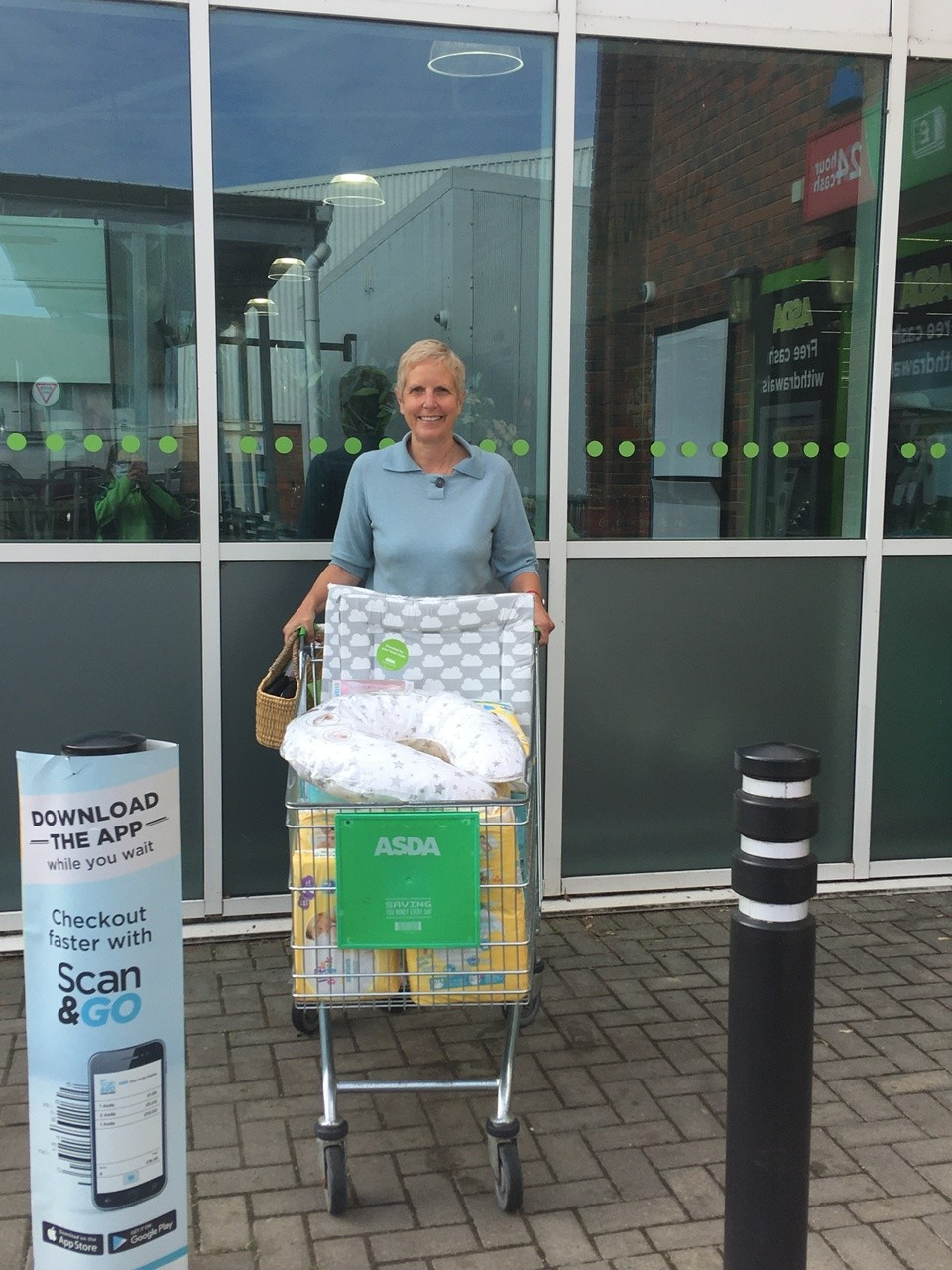 Oxford Baby Bank donation | Asda Wheatley