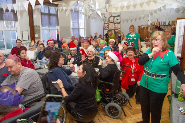 Bev Ashdown from Asda Watford organised a Christmas surprise for disability charity DRUM