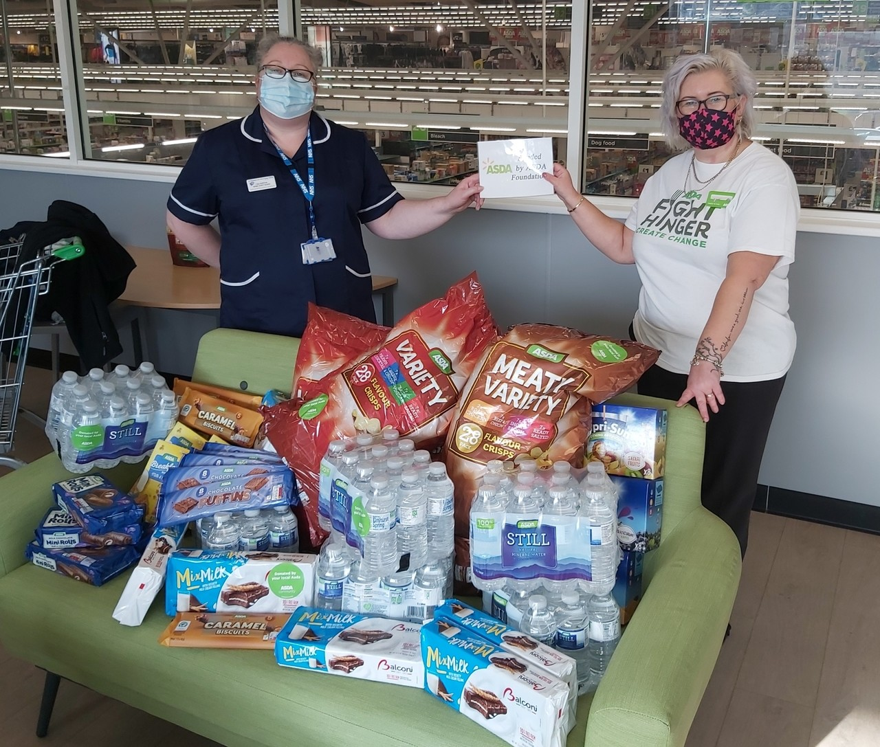 A little help to say thank you  | Asda Donnington Wood