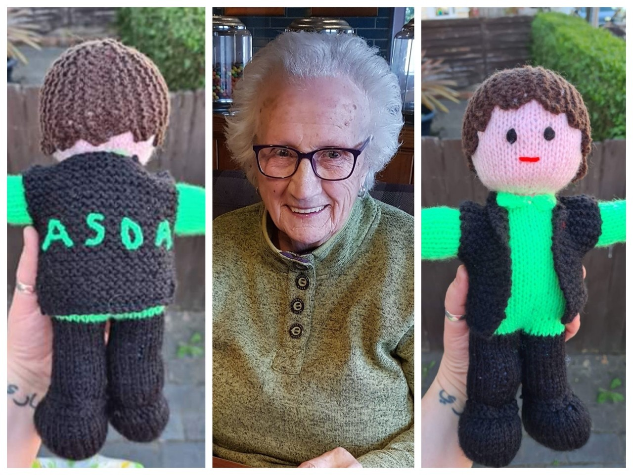 Knitted heroes at Asda Sutton-in-Ashfield! | Asda Sutton in Ashfield