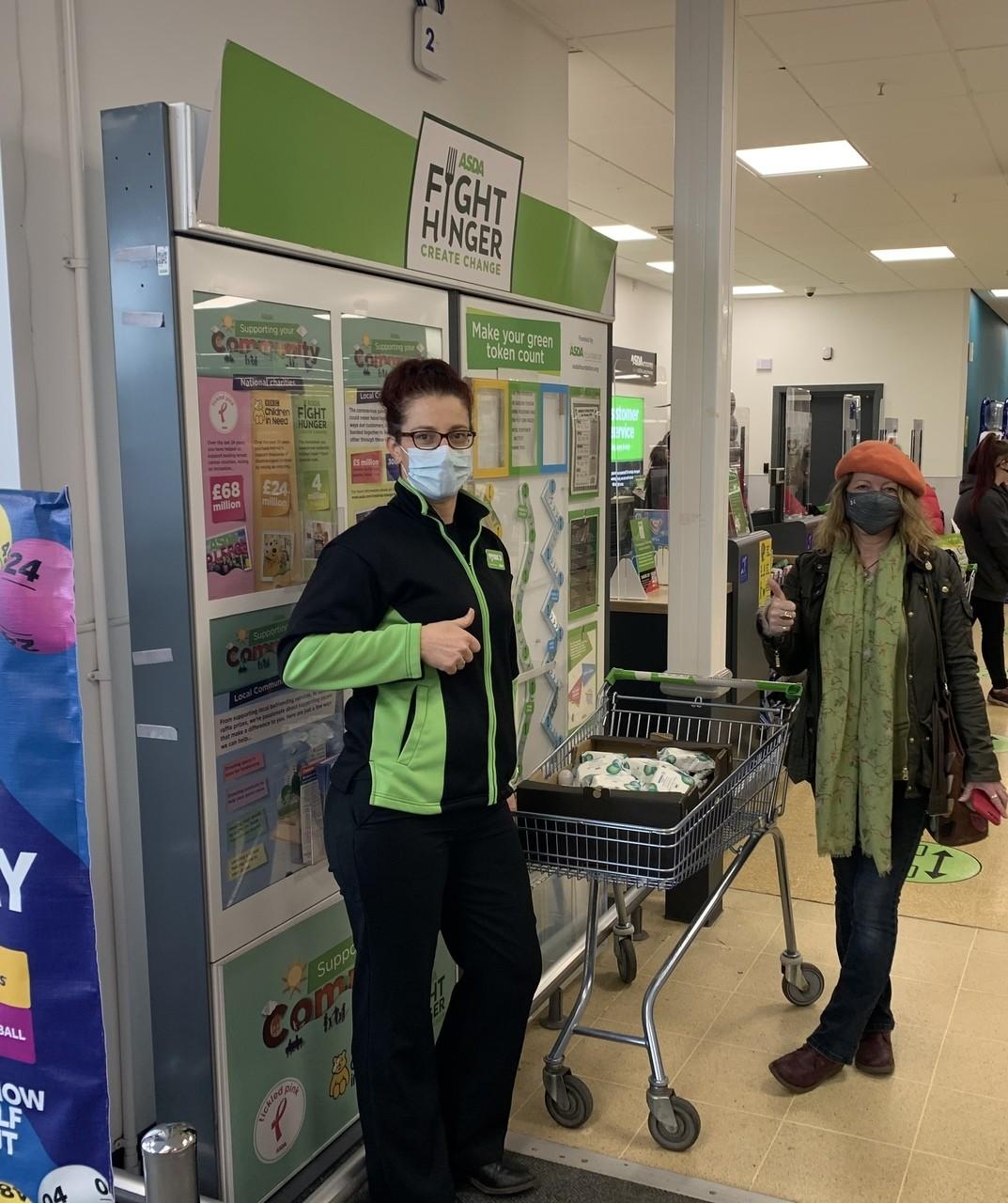 Donation to Weston Hospital | Asda Weston-super-Mare