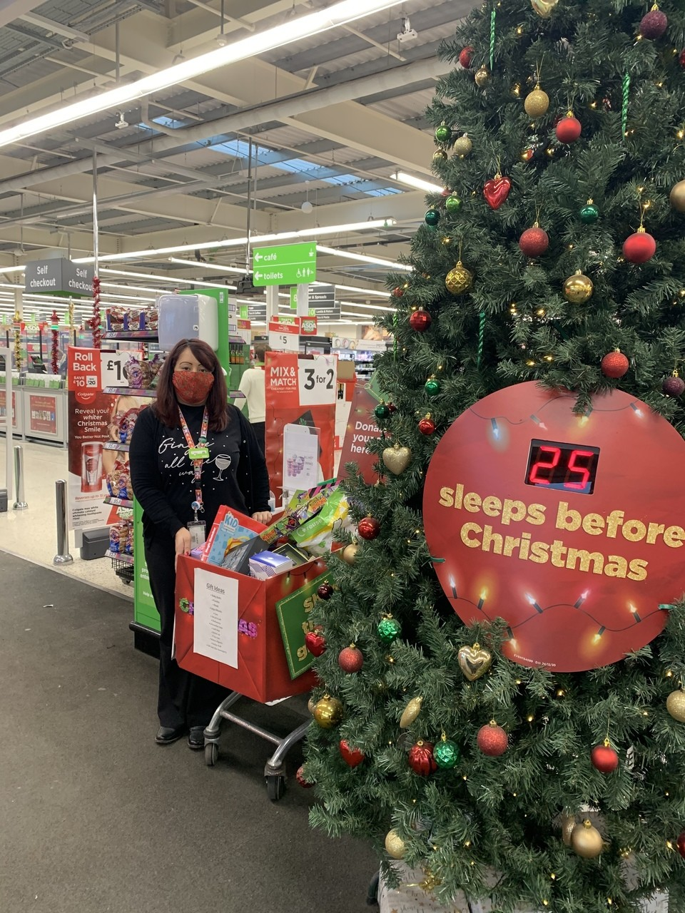 Hertfood Toy Appeal support | Asda Ware