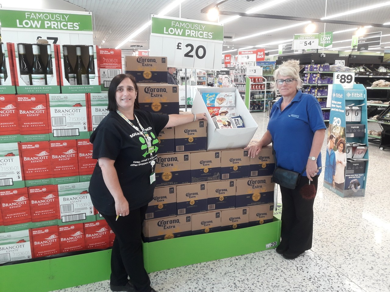 Donation to Aneurin Bevan Court  | Asda Newport